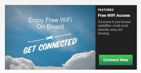 Norwegian Free Wifi