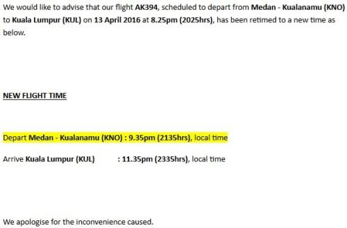 AirAsia Retimed