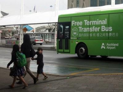 Auckland Airport Transfer Bus