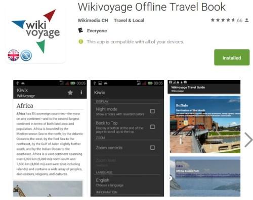 WikiVoyage Offline Travel