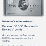 Amex Platinum 100k Offer – Yes, Everyone Else Has Posted But This is One of Those to Jump on If You're Ready