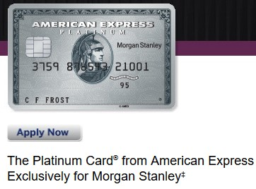 Amex Platinum Morgan Stanley