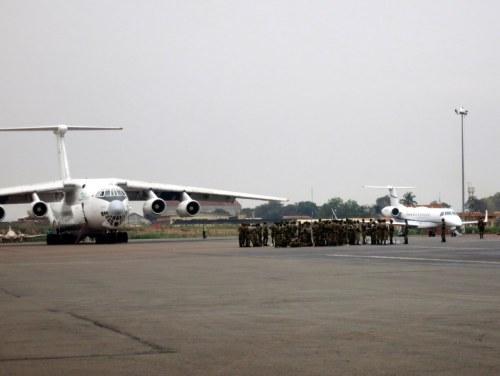 CEIBA Plane Bangui