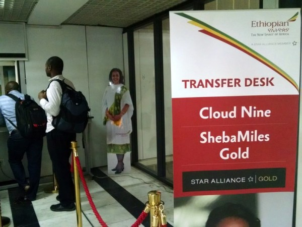 Ethiopian Air Transfer Desk