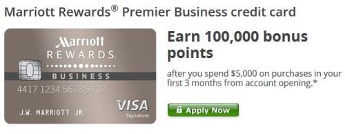 Marriott Rewards Premier Business Card