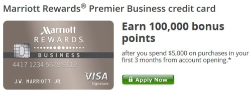 Marriott Rewards Premier Business Card