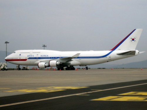 South Korean Presidential Plane 747-400