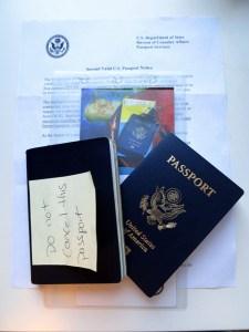 Second US Passport