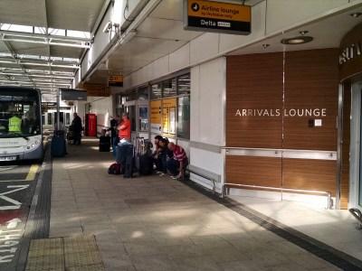 Delta LHR Arrivals Lounge
