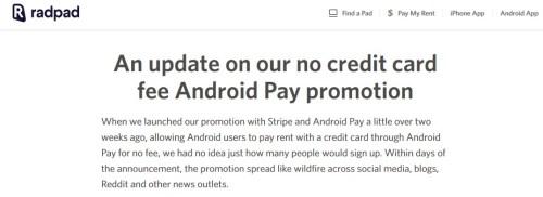 RadPad AndroidPay