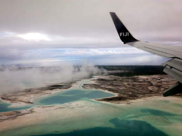 Fiji Airways Christmas Island