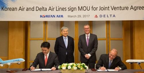 Delta Korean MOU