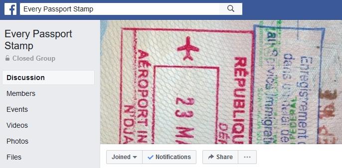 Every Passport Stamp Home
