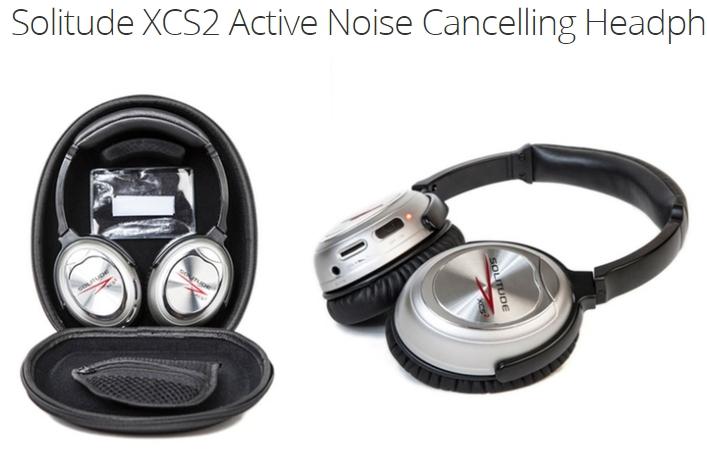 Solitude XCS2 Active Noise Cancelling Headphones