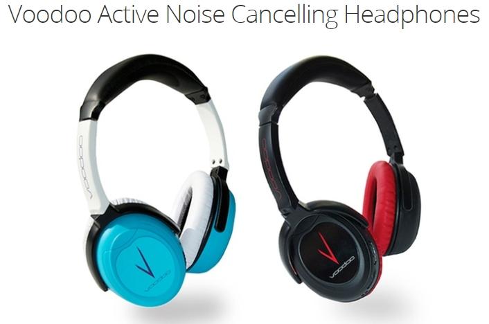 Voodoo Active Noise Cancelling Headphones
