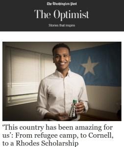 Washington Post The Optimist