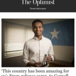 The Optimist, Office Chair That Won't Kill You, Emirates Flag Fracas