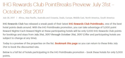 IHG PointBreaks 2017Q3