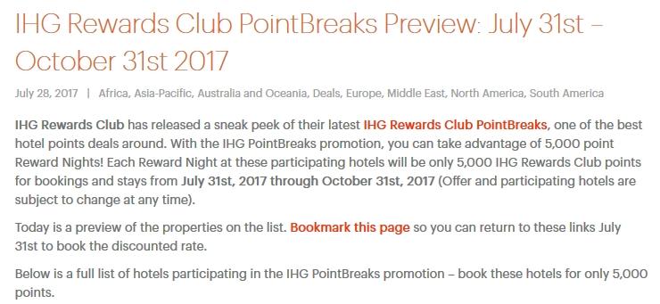 IHG PointBreaks 2017Q3