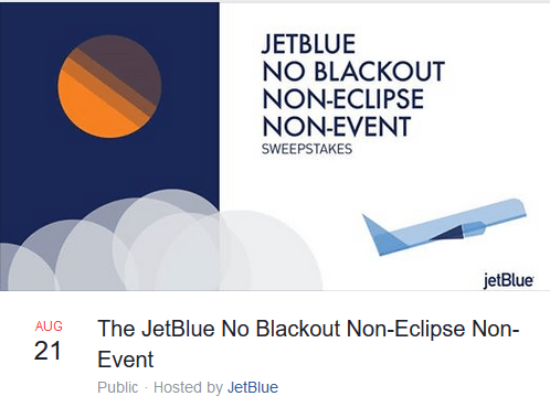 etBlue No Blackout Points Giveaway