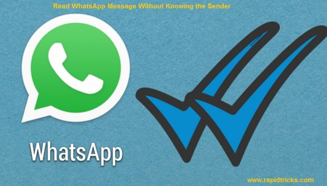 Read WhatsApp Message Without Knowing the Sender