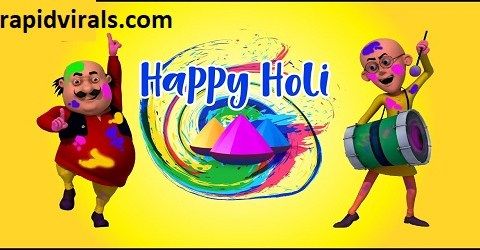 HOLI special with Motu Patlu Cartoons In Hindi