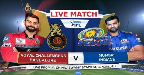 Mumbai Indian vs Royal challengers Bangalores