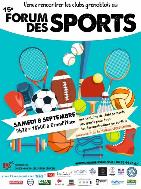 Forum des Sports de Grenoble – Besoin d'aide !
