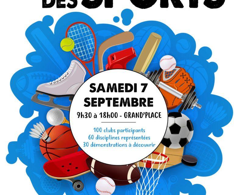 Venez nous rencontrer au Forum des sports !