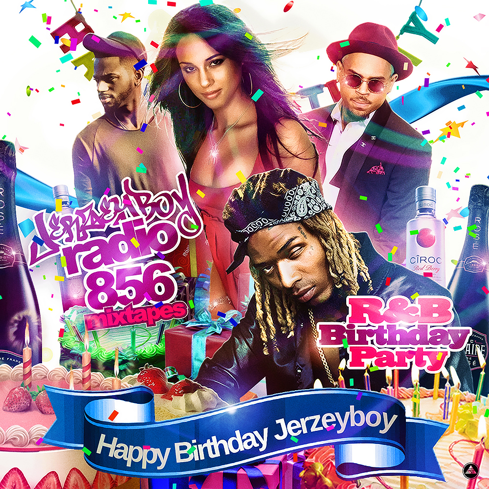 Jerzeyboy Radio Mixtapes - R&B Birthday Party