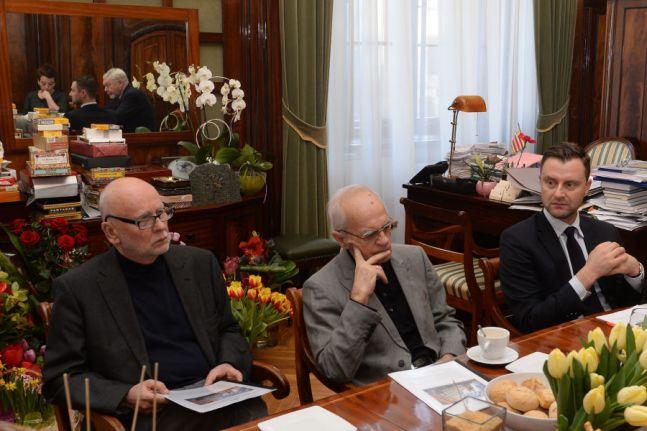Obrady Rady Honorowej Miasta Literatury UNESCO