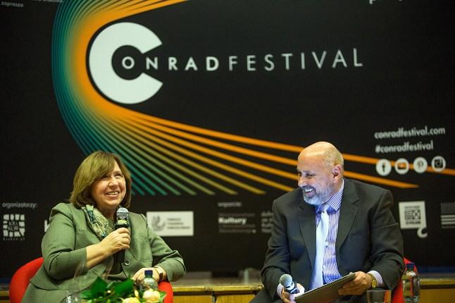 Festiwal Conrada - spotkanie ze Swietłaną Aleksijewicz, Fot. Tomasz Wiech