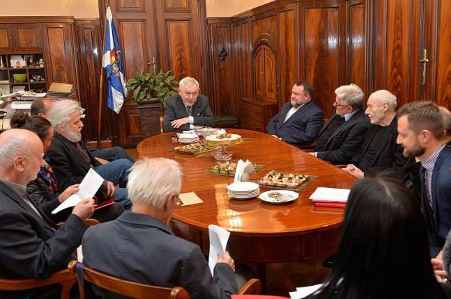 Posiedzenie Rady Honorowej Miasta Literatury UNESCO, fot. www.krakow.pl