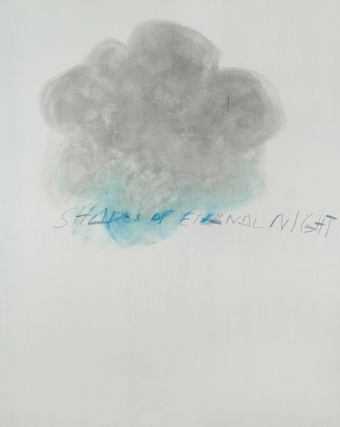 Cy Twombly, Fifty Days at Iliam: Shades of Eternal Night