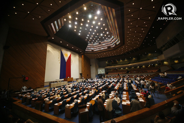 SPEEDY DELIBERATIONS. The House of Representatives terminated the debate on the death penalty bill after only 7 session days. File photo by Ben Nabong/Rappler
