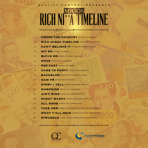 rich nigga timeline back