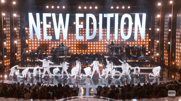 Image result for 2017 bet awards new edition cast