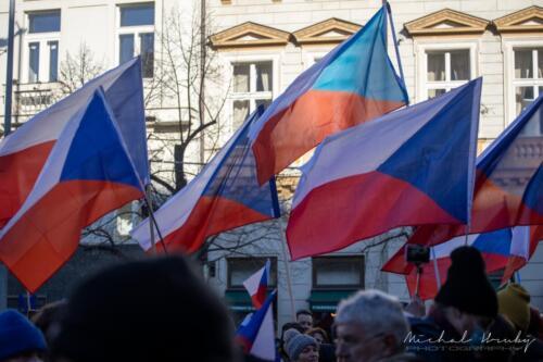 FOTOGALERIE: Demonstrace Jsme lidi, NÁS NEVYPNETE!