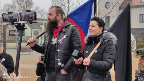 Smuteční pochod za zbytečné oběti vlády ČR