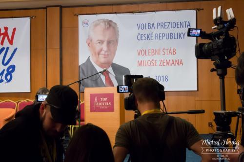 Prezidentské volby 2018 - štáb Miloše zemana 27. 1 2018