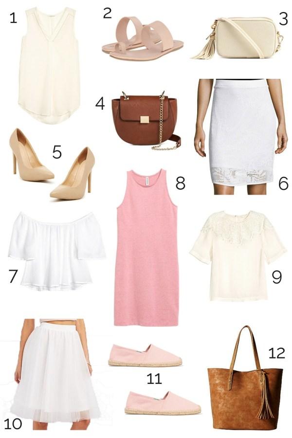 Spring/Summer Fashion Picks