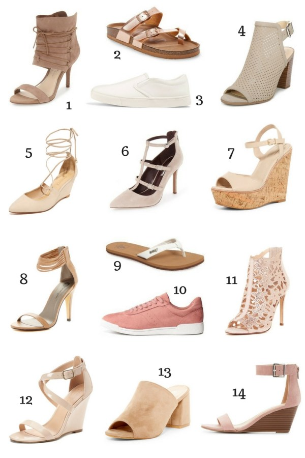 2017 Spring Shoes Under $50
