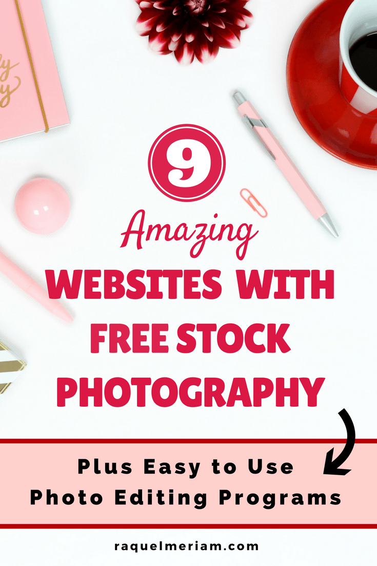 Looking for free stock photos for your website or blog? Look no further. This comprehensive list highlights my top 8 favourite websites for photography. PLUS you will receive a list of easy to use photo editing programs.