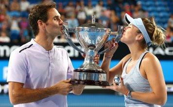 Federer e Belinda Bencic