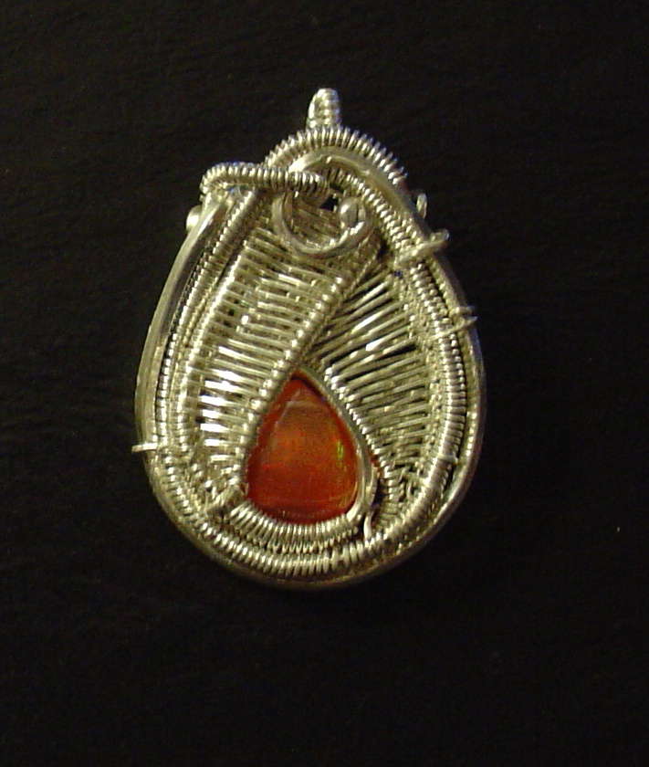 Mexican Fire agate also