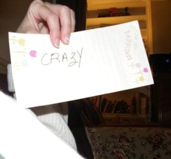 Crazy! - purplerosemary.com