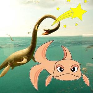 fishofgold, rarasaur, wish, shooting star