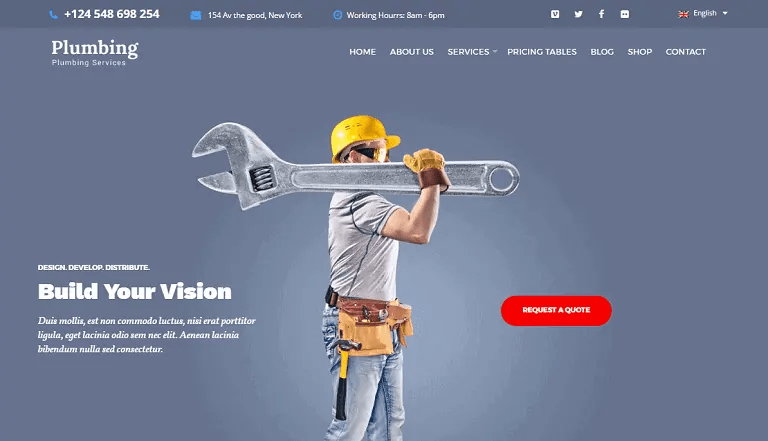 Unnoticed and underappreciated, plumbers toil to make toilets tolerable and ovens warm. 30 WordPress Themes For Plumbers Heating Companies