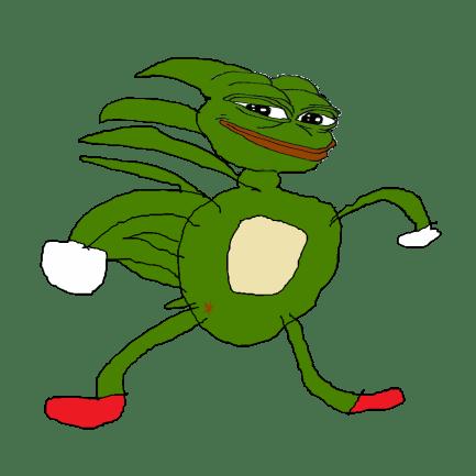Sonic (Sanic) pepe