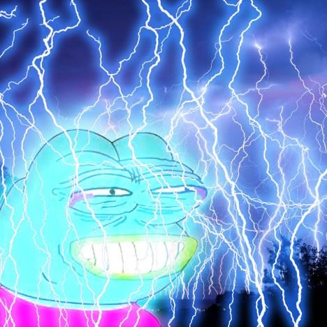 Lightning Pepe